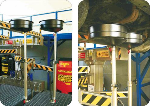 kit recupero olio cambio e motore mod3106