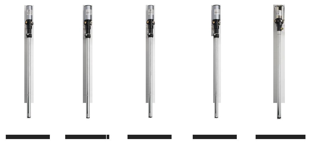 Pompe pneumatiche per travaso di olio lubrificante dotate di doppio distributore di scarico dell'aria compressa, TWDE SERIES