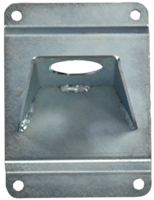 Wall bracket in galvanized steel