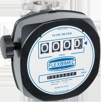 Mechanical nutating – disk flow meter for diesel