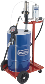 2971_mid Mobile pneumatic oil dispensing kit with electronic oil flow meter MID approved
