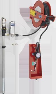 Unità pneumatica fissa di distribuzione olio da fusto 208 l certificato MID