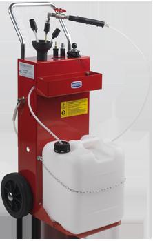 Unidade móvel de sucção de óleo residual