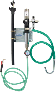 pneumatic piston pump kit of suction probes