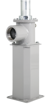 Flangia supporto metallica di sostegno per pompe industriali serie Power Bull