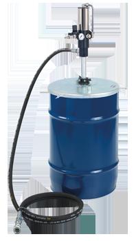 4963 Kit con pompa pneumatica rapporto 25:1 per il travaso di grasso