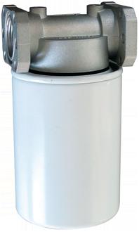 Filtro per gasolio e benzina con cartuccia