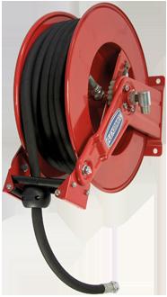 Enrollador automático con muelle, de acero, serie con brazos ajustables EVO