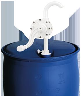 Bomba rotativa manual de PVC