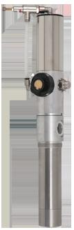 Pompa pneumatica a pistone per l'aspirazione ed il travaso di benzina