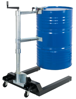 Drum lift ERCOLINO 250 Accessory for all spill containment pallets of series Tank Service Base
