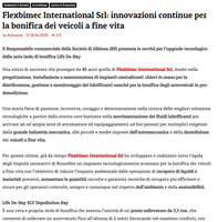 press release Flexbimec