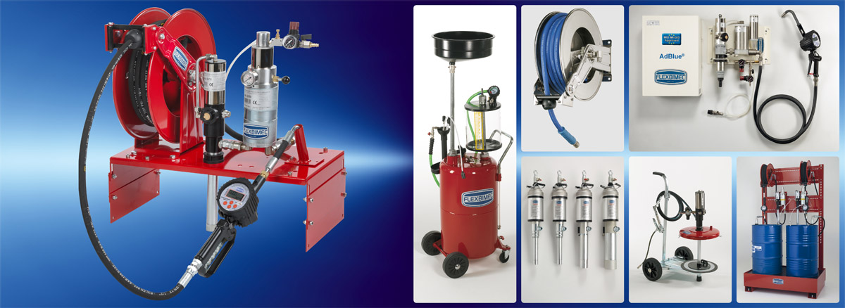 Flexbimec srl Production of lubrication equipment and fluid monitoring systems