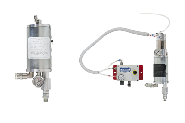 Automatic air separator devices