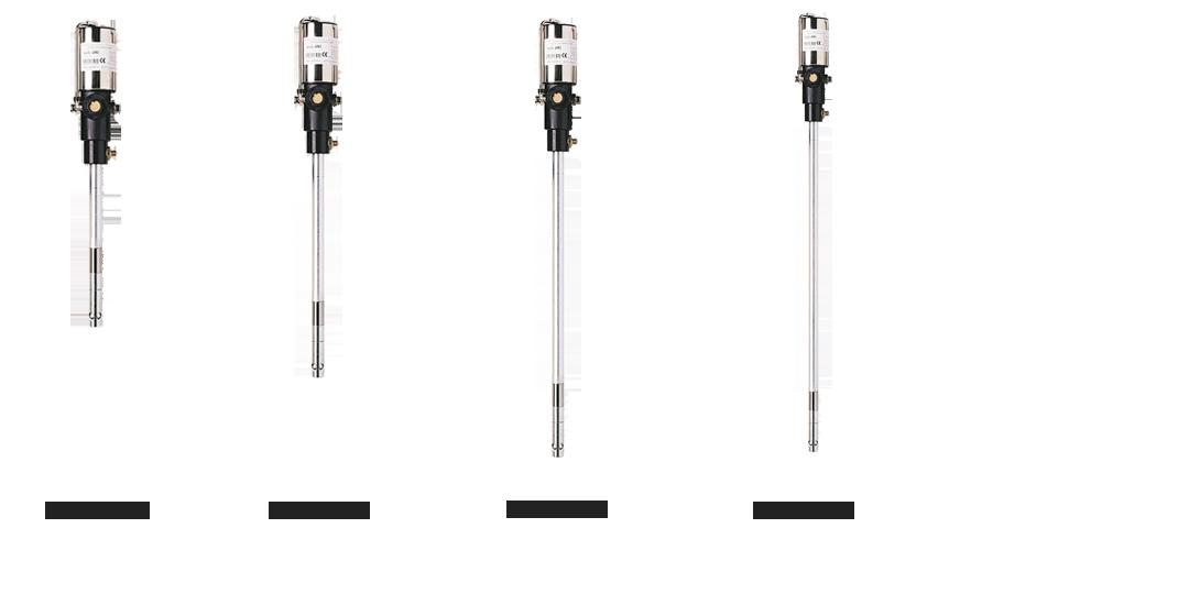 Pompe pneumatiche per la distribuzione di grasso a lunghe distanze o per lubrificazione forzata