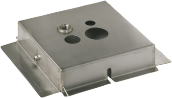 Steel mounting plate