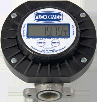 Electronic oscillating – disk flow meter for diesel