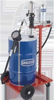 2971_mid Unità pneumatica di distribuzione olio mobile per fusti da 60 l contalitri certificato MID