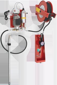 Unità pneumatica di distribuzione olio fissacon contalitri certificato MID MI-005