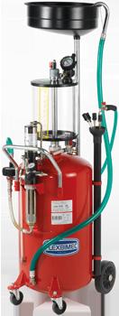 Aspirador, recuperador móvil de aceite usado