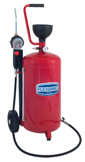 3359 Mobile oil dispensing unit, consisting of 40 l container