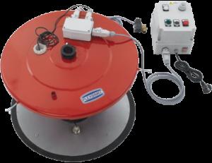 Dispositivo arresto pompa per grasso