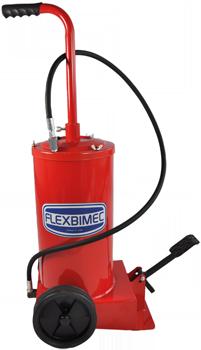 5190 Pompa manuale per ingrassaggio a barile da 16 kg