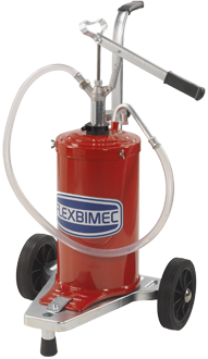 Pompa manuale per olio a barile