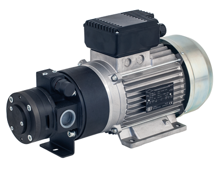 6135 Electric, self-priming gear pump, for the supply of oil