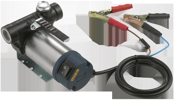 Pompa elettrica per travaso gasolio