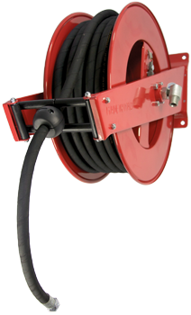 9021-4820 Automatic, spring – driven hose reel, standard series, in painted steel