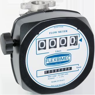Mechanical nutating – disk flow meter for petrol