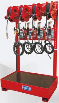 Pneumatic waste fluids suction kit