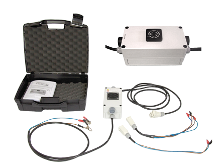 Electronic airbag activating and blasting unit BOOM-BAG