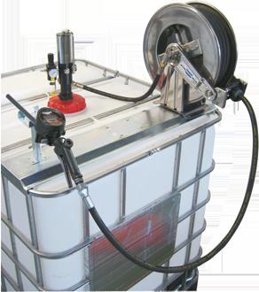 Kit travaso AdBlue® a funzionamento pneumatico