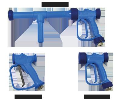 Heavy duty water gun