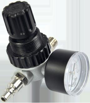 Regolatore di pressione aria compressa con manometro