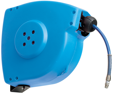 """Automatic rewind, spring-driven hose reel, series """"Easy Roller"""""""