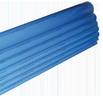 Calibrated pipes in extruded aluminium