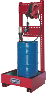 art 8548 Stationary pneumatic oil supply station,for 208 l drums