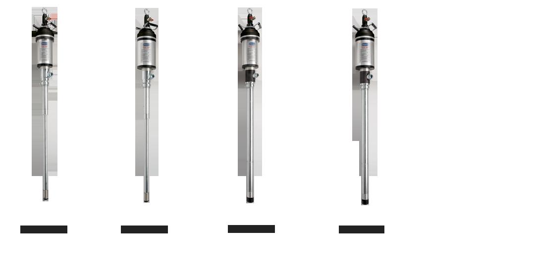 "Heavy duty pneumatic pumps, industrial pump series ""Power Bull"" art 2057-2058-2088-2091"