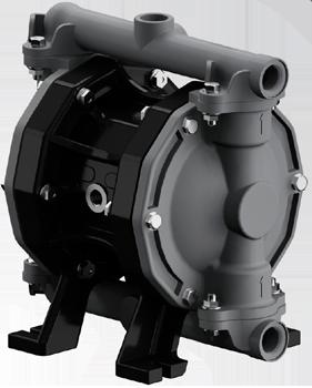 art 8319 Pompa pneumatica a doppia membrana