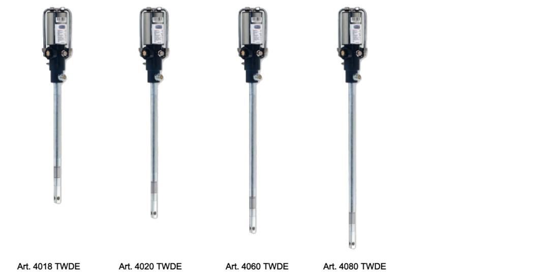 4018TWDE-4020TWDE-4060TWDE-4080TWDE Pompe pneumatiche per la distribuzione di grasso serie TWDE